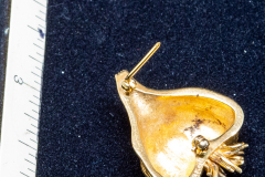 Helen Paddle jewelry gold garlic brooch 13 g worth about $700 today? Patti